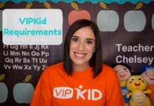 VIPKid Requirements